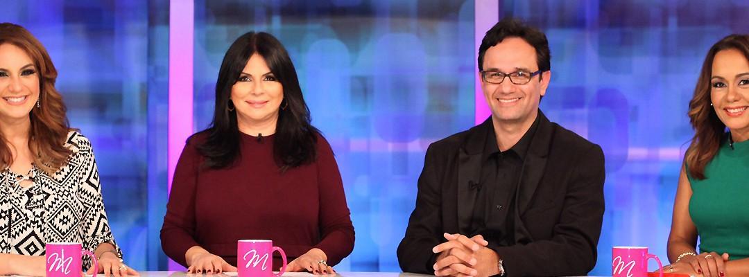 Jimmy Navarro habla sobre los medios sociales y los niños en Mariam TV de la cadena Enlace TV